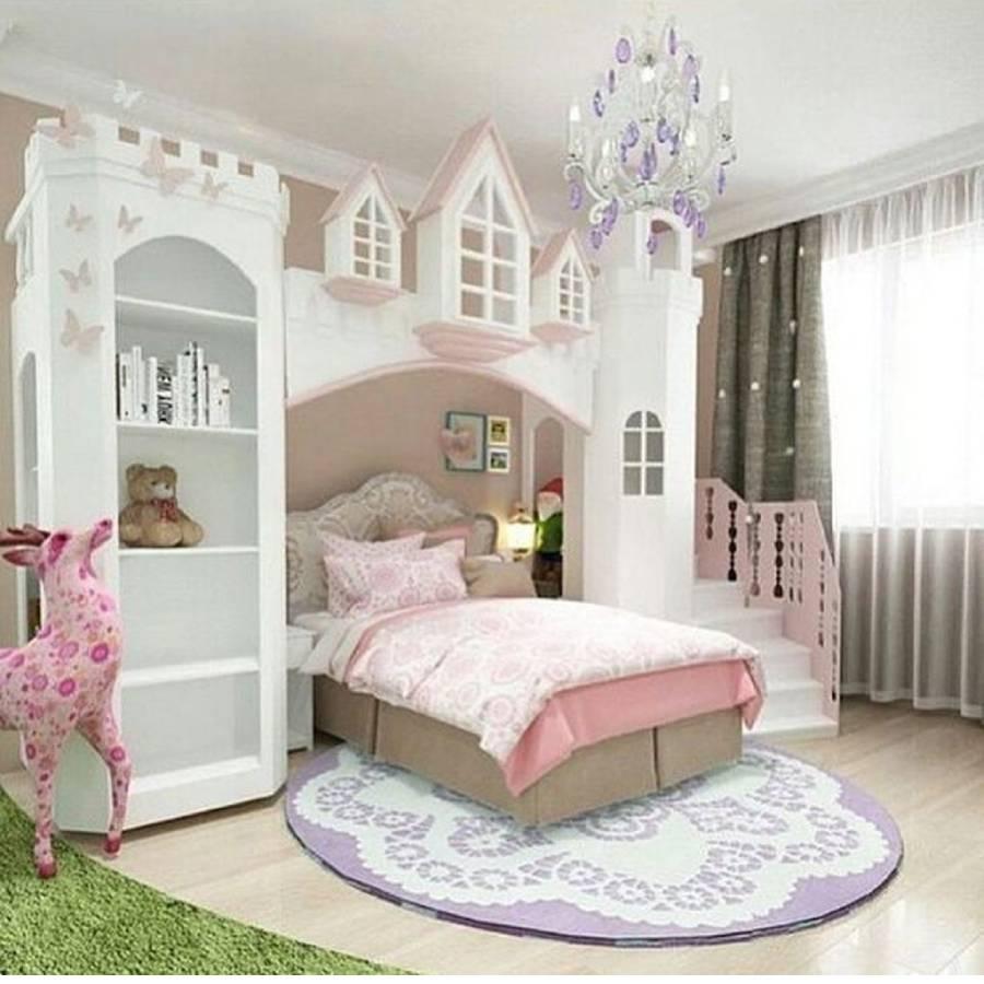 mẫu thiết kế phòng ngủ bé gái công ty xây dựng brocons