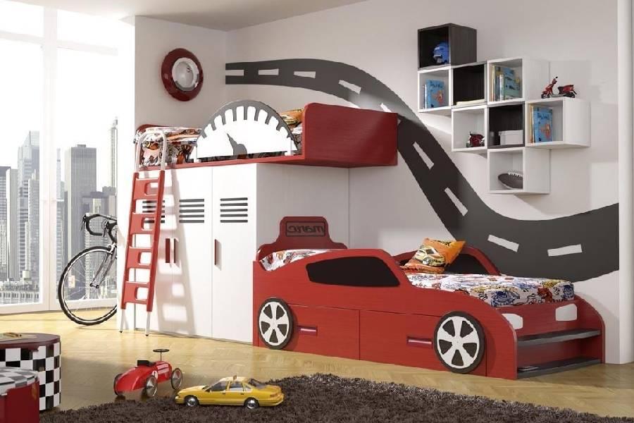 mẫu thiết kế nội thất phòng ngủ bé trai công ty xây dựng brocons