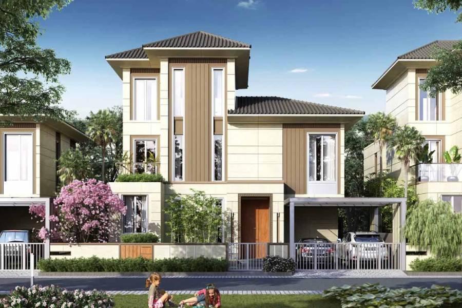mẫu thiết kế biệt thự 3 tầng đẹp công ty xây dựng brocons
