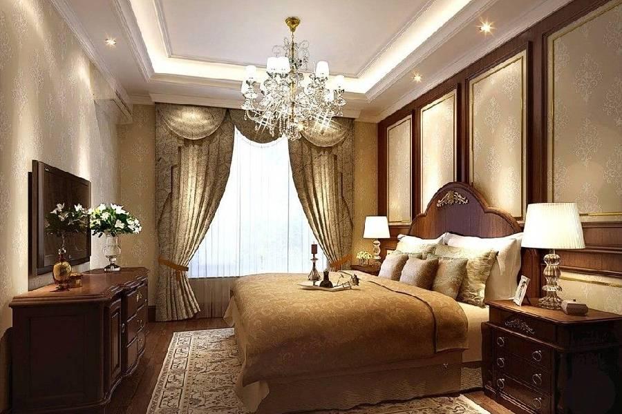 mẫu thiết kế biệt thự tân cổ điển phòng ngủ