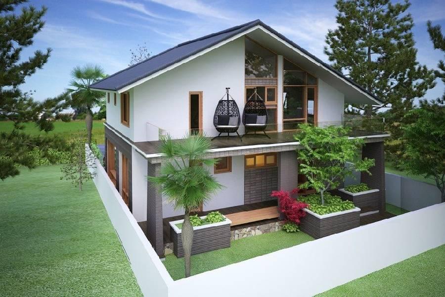 mẫu thiết kế biệt thự đẹp Đà lạt xây dựn brocons