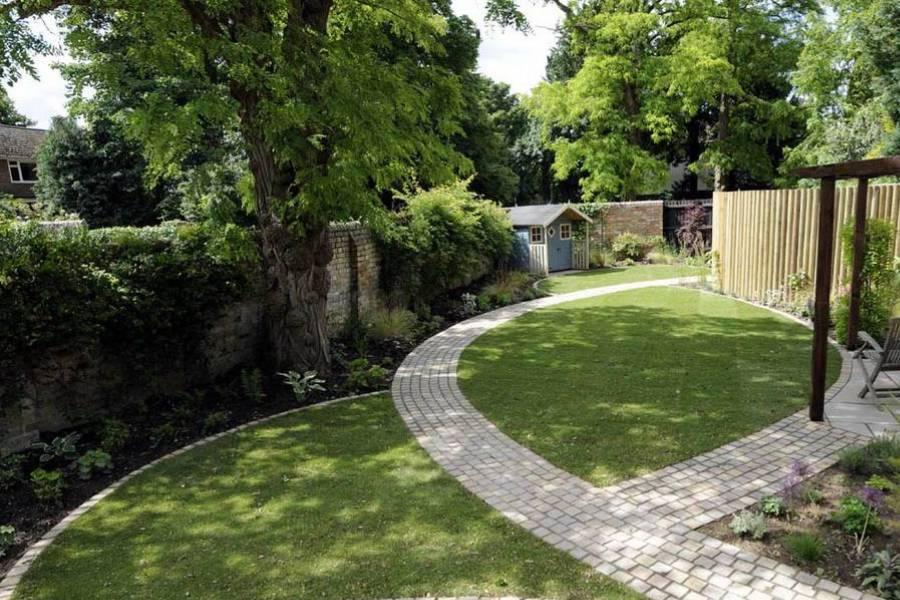 mẫu thiết kế lối đi sân vườn đẹp cho biệt thự công ty xây dựng brocons