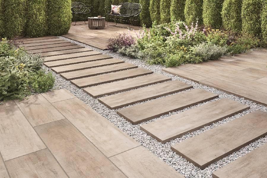 thiết kế lối đi sân vườn đẹp cho biệt thự công ty xây dựng brocons
