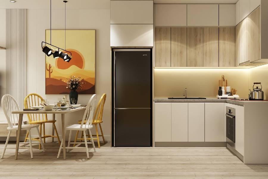 mẫu thiết kế nội thất phòng bếp công ty xây dựng brocons
