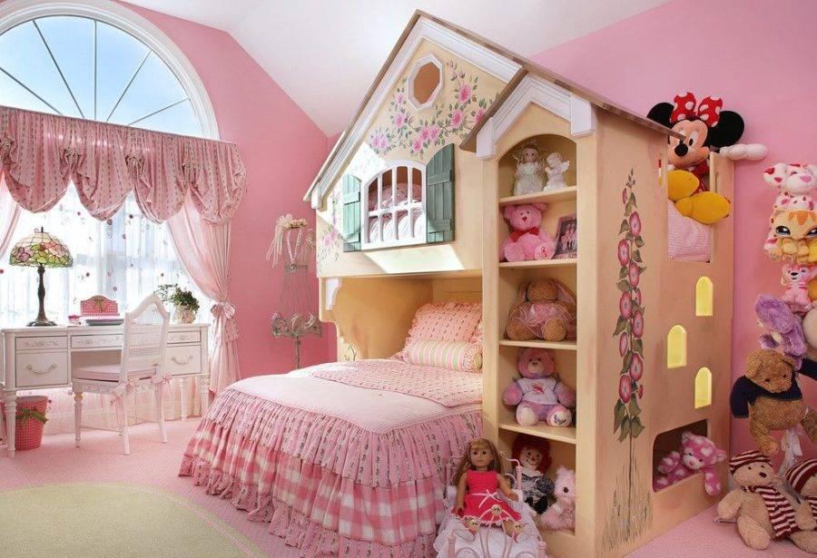 mẫu thiết kế nội thất phòng ngủ công chúa công ty xây dựng brocons