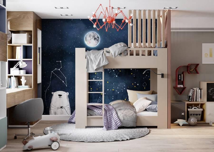 mẫu thiết kế nội thất phòng ngủ cho bé trai công ty xây dựng brocons