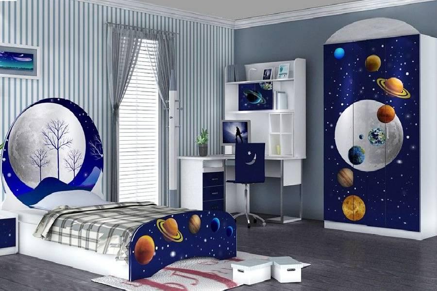 mẫu thiết kế nội thất phòng ngủ cho bé nam công ty xây dựng brocons