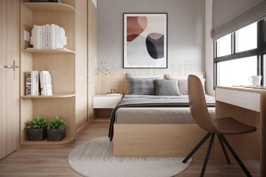 mẫu thiết kế nội thất phòng ngủ công ty xây dựng brocons