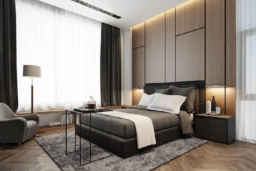 mẫu thiết kế nội thất phòng ngủ xây dựng brocons đà lạt