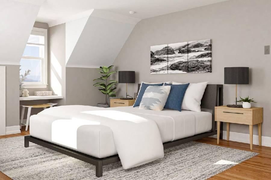 mẫu thiết kế nội thất phòng ngủ xây dựng brocons