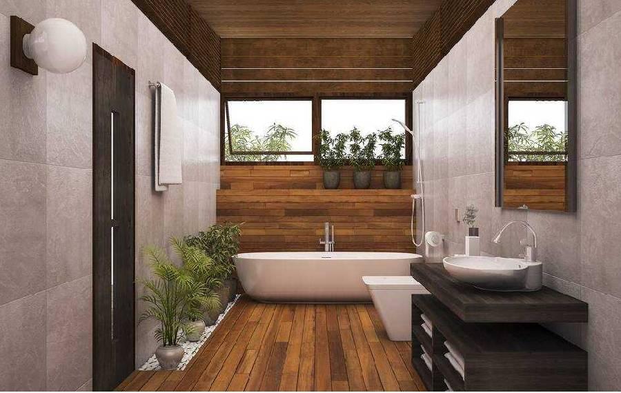 mẫu thiết kế nhà tắm công ty xây dựng brocons