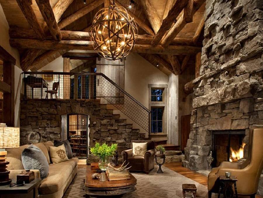 mẫu thiết nội thất phong cách rustic công ty xây dựng brocons