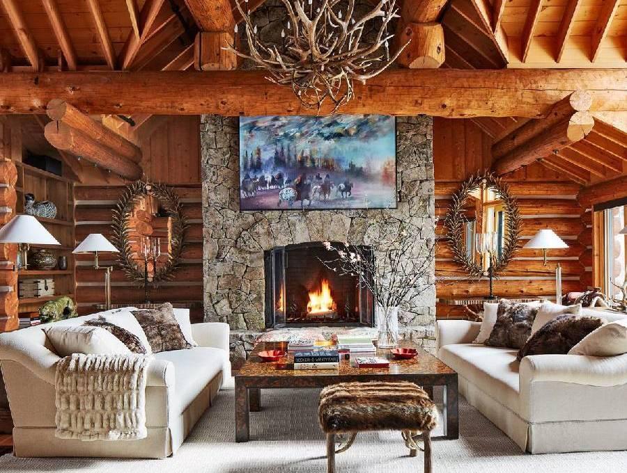 mẫu thiết kế nội thất phong cách rustic công ty xây dựng brocons