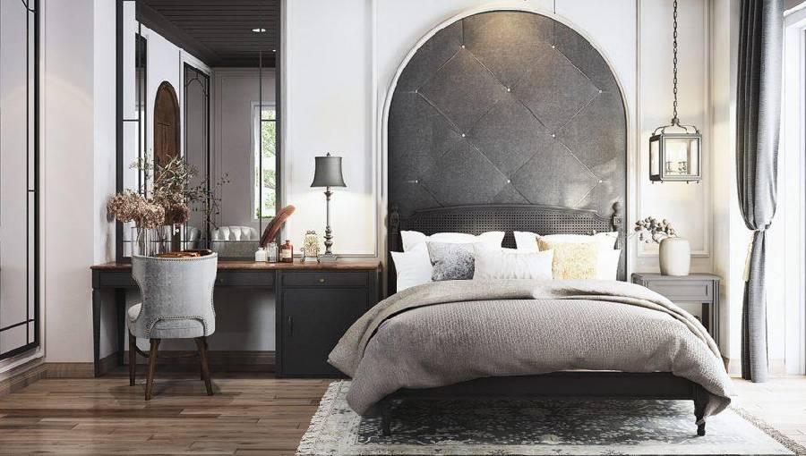 mẫu thiết kế nối thất phòng ngủ công ty xây dựng brocons